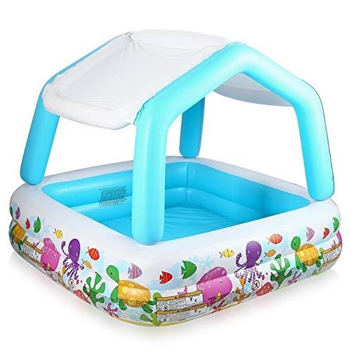 Intex inflatable sun shade pool