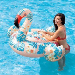 Intex Tropical Flamingo Ride-On 57559
